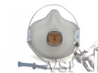 Z.C) Respirador N95 con valvula. Ajuste sistemna Handy Strap