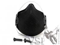 Z) Respirador Negro para material particulado N95