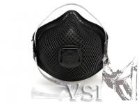 Z.D) Respirador con valvula N95 Color negro