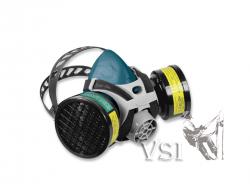 Respirador Zubiola Media Máscara. Doble Cartucho - Incluye 2 filtros. 11887702