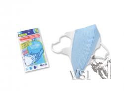 Mascarillas Zubiola Termoselladas - Desechables • Bolsa x 5 unidades. Color Azul/Blanco. 11905006