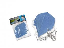 Mascarillas Zubiola para polvo. Termosellada. Desechable. Bolsa x 5 unidades. Color Azul. 11909099