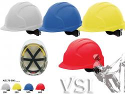 Casco visera media guantes normas de seguridad industrial Bogota